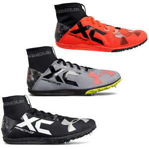 05020656b5 Details about New UNDER ARMOUR UA Charged Bandit XC Mens Cross Country  Running Shoes Spikes