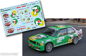 Decal-1-43-Jose-Maria-Ponce-BMW-M3-Rally-Islas-Canarias-El-Corte-Ingles-2012