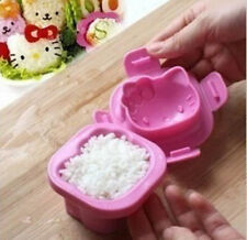Kawaii Cute Hello Kitty Rice Lunch Food Ball Mould Mold Sushi Shaper Kitchen