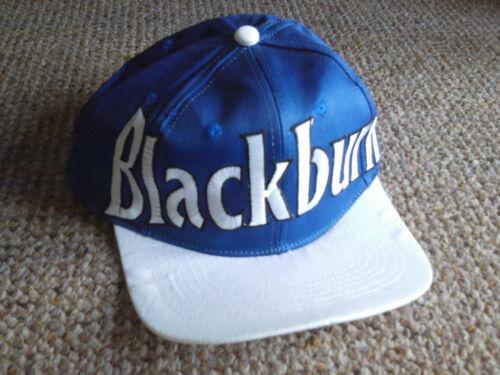 Blackburn ROVER FOOTY Football Club Cappellino Baseball Hat Blue /& white NUOVA