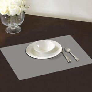 4X-Plastic-Clear-Transparent-Dining-Tableware-Pad-Insulation-Mats-Pad-Placemats
