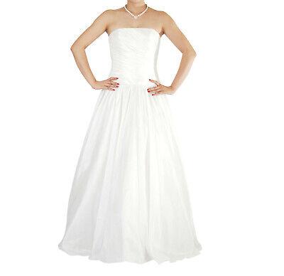 Ivory Wedding Evening Prom Dress UK Size 6-14,EU34-42,US4-10 UK STOCK