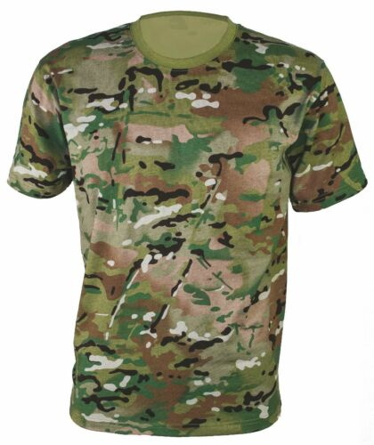 Large Lot of Unisex MILITARY CAMOUFLAGE CAMO T SHIRT ARMY COMBAT MTP shirts