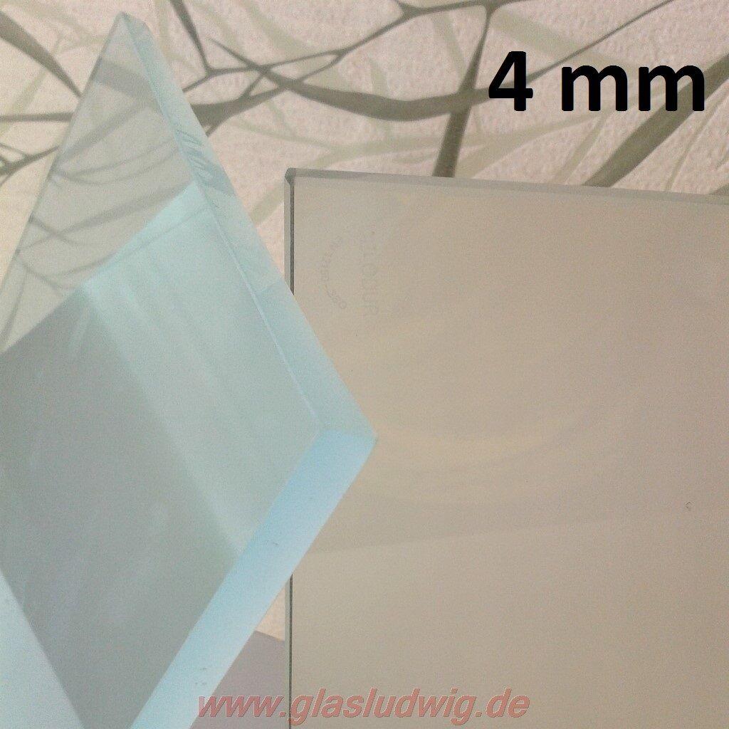 Milchglas-platte-satiniert 4 mm mm mm SICHERHEITSGLAS (ges   m² + Kpo   m²) 8c50d4
