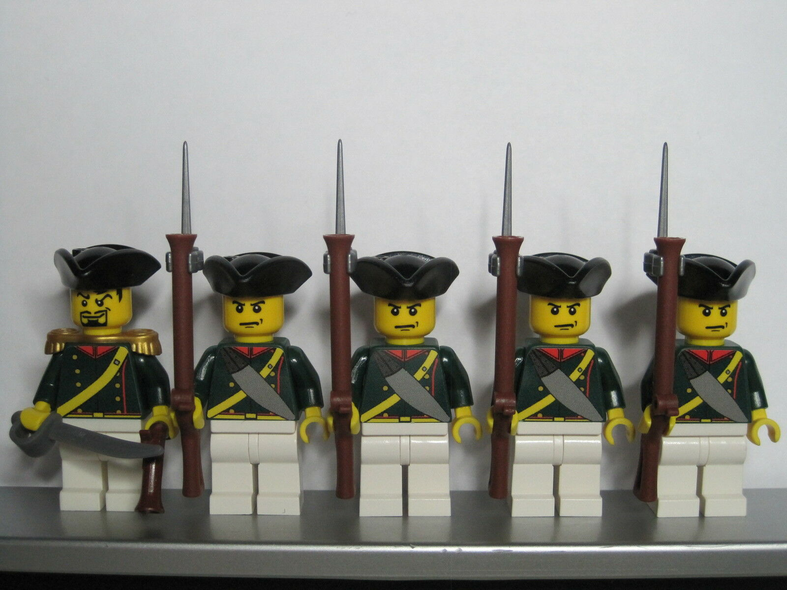 Lego PIRATES NAPOLEONIC WARS FRENCH Elite Infantry Infantry Infantry Soldiers MINIFIGS ef1721