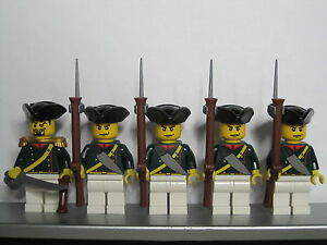 Lego PIRATES NAPOLEONIC WARS FRENCH Elite Infantry Soldiers MINIFIGS