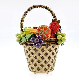 Top Hand Mary Help Fruit New Geparelde Limited Bowl Tas Frances Handtas 0Okw8nP