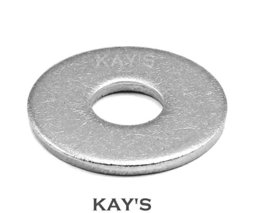M30 FORM G WASHERS WIDE THICK FLAT ZINC PLATED STEEL DIN 9021 METRIC SIZES M5