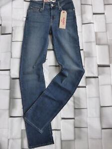 Levis-Stretch-Jeans-Size-W-26-L-34-Blue-Tone-New-881