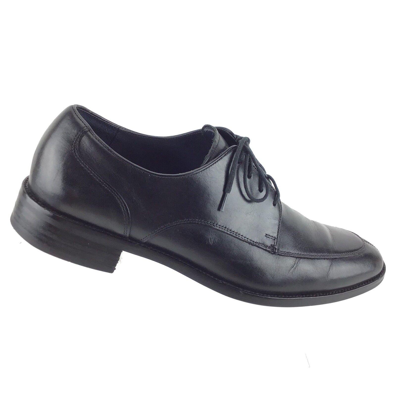 Cole Haan Grand O.S. Men's Black Apron Split Toe Oxford Dress Casual Shoes R6S4