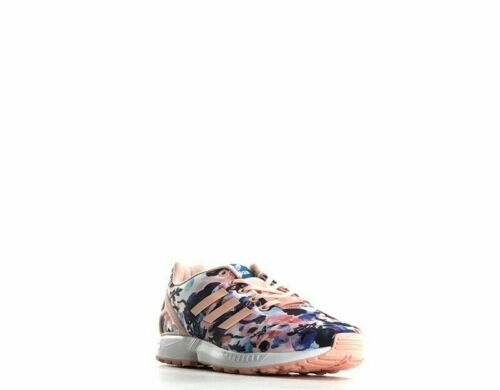Adidas BB2878 ZX Flux J Big Kids Graphic Sneakers Haze Coral//White  #BR31