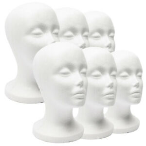Female-Foam-Mannequin-Head-Model-Hat-Wig-Jewelry-Temporary-Shop-Display-Stand-Ra