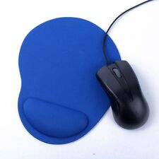 Mouse Mat Mice Pad Durable Soft Support Wrist Comfortable Ultra-Thin Blue US