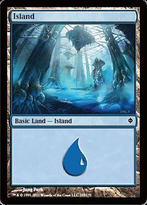 Magic the Gathering 20 FOIL ISLANDS mtg basic land cards NM blue mana