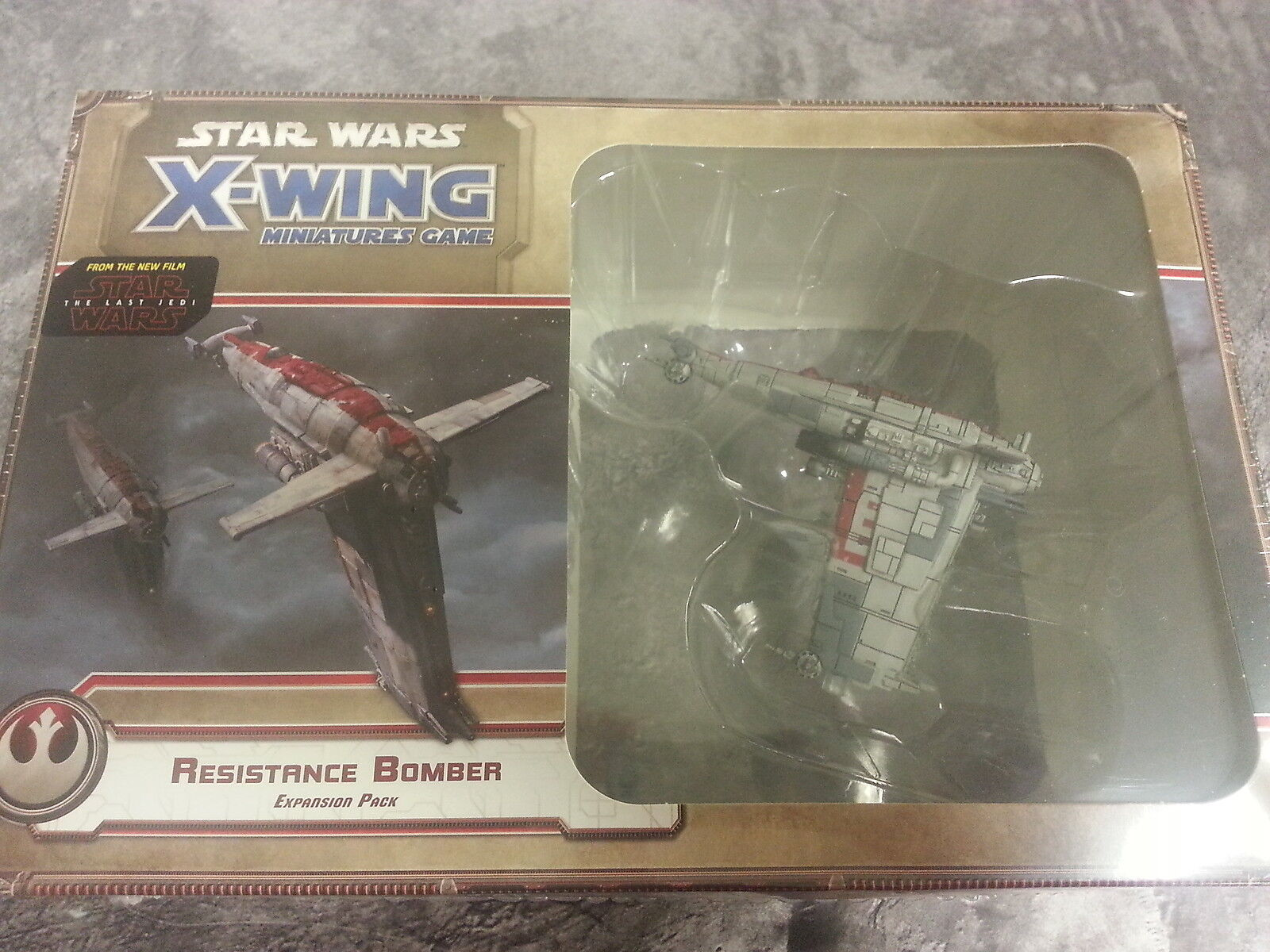 X-WING RESISTANCE BOMBER EXPANSION - NEW AND SEALED
