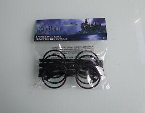 Harry-Potter-Novelty-Glasses-4pk-Childrens-Party-Decoration-Wizards