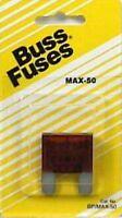 Buss Automotive Mixi Fuse (bp/max-50), 6 Each (m2899k)
