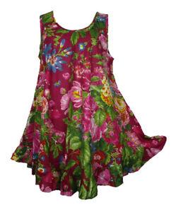LAGENLOOK COTTON OVERSIZED BEAUTIFUL TUNIC TOP DRESS SIZE 20 22 24 26 28