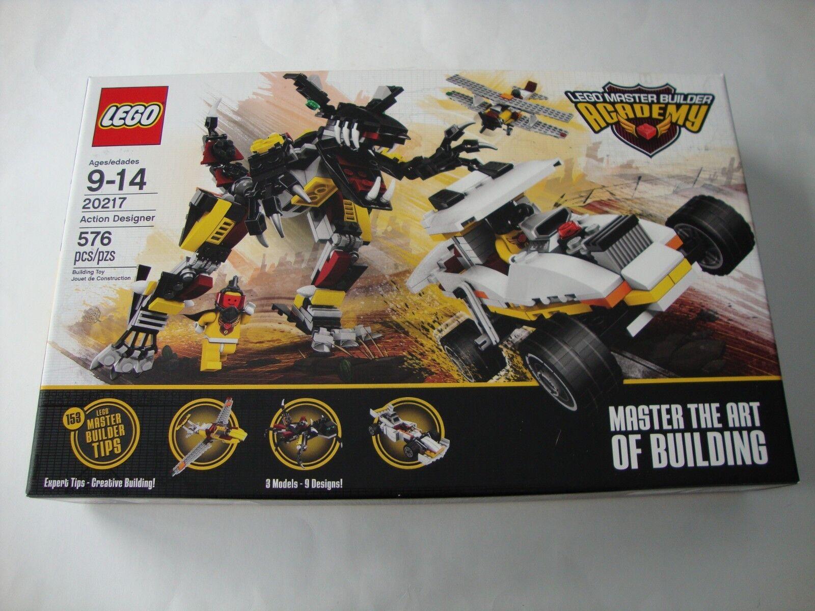 LEGO 20217 MBA Master Builder Academy ACTION DESIGNER - NEW & SEALED