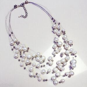 Charm Fashion Jewelry Pendant Chain Crystal Choker Chunky Statement Bib Necklace