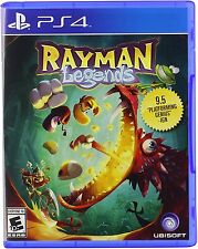 Rayman Legends [PlayStation 4 PS4, Action Platformer 4-Player Co-op Game] NEW
