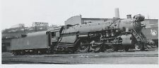 Vtg 1950 Central Railroad CRR of NJ Engine #814 Bethlehem PA Train Real Photo