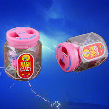 Electric Shock Candy Sugar jar pot Toy Utility Gadget Gag Joke Funny Prank Trick