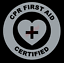 CPR-First-Aid-Certified-Emblem-Vinyl-Decal-Window-Sticker-Car thumbnail 10