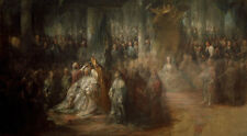 The Coronation of King Gustav III of Sweden. Pilo König Schweden B A3 00972