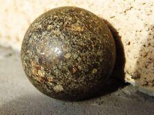 NWA 869 Sahara Desert Stone Meteorite Sphere Polished Space Ball 65.7 Grams