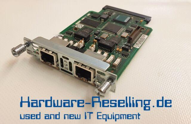 Cisco Systèmes VWIC2-2MFT-T1/E1 - 2-Port RJ-48 Raccord Multiflex Tronc