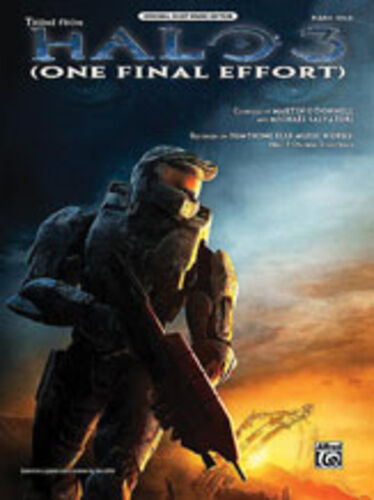 One Final Effort (from Halo 3), Piano/Vocal/Guitar Singles, ALFRED - 30453