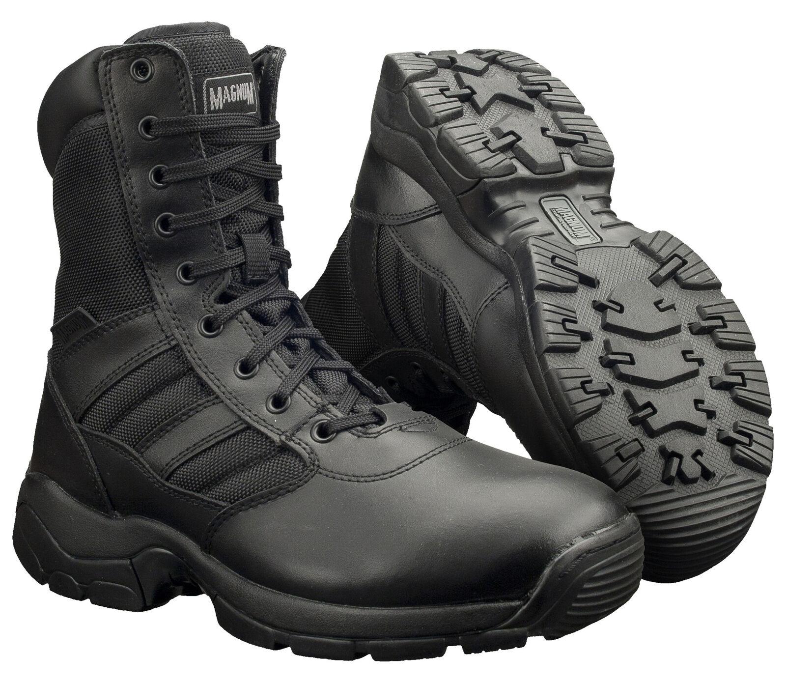 Magnum Pantera 8.0 fuerza de combate ejército policía táctica Negro Militar botas UK4-15