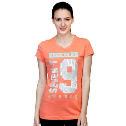 Reebok Training Graphic 79 Tee Damen Fitness T-Shirt Laufshirt  Women Tee
