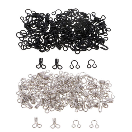 50 Sets Metallhaken und Ösen Verschlusshose Kostümverschlüsse
