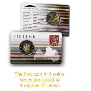New Coin THE EARTH 2016 Latvia Silver Perlukor Euro Lettland Letonia  Innovative