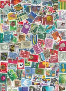 850-SWITZERLAND-USED-ALL-DIFFERENT-COMMEMORATIVE-PICTORIAL-KILOWARE-8-SCANS
