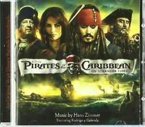 Details about Pirates Of The Caribbean: On Stranger Tides - Soundtrack -  Hans Zimmer (NEW CD)
