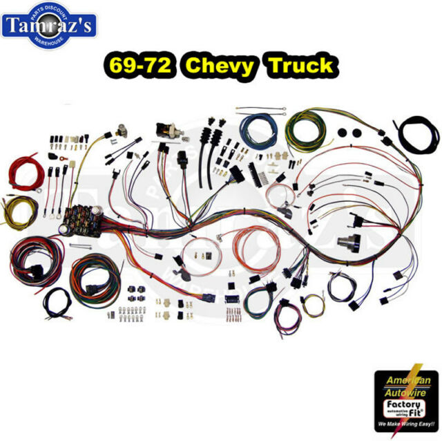 [DIAGRAM_5FD]  American Autowire 510089 69-72 Fits Chevy Truck Wiring Harness for sale  online | eBay | Chevy Truck Wiring Harness Ebay |  | eBay