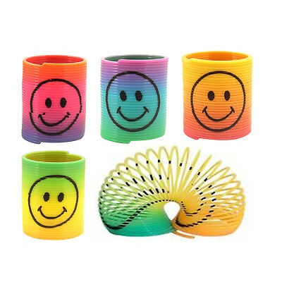 Rainbow Spring Slinky ToysParty Bag FillerPinata Filler