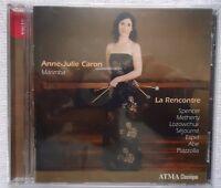 La Rencontre Anne Julie Caron Marimba (cd, May-2009, Atma Classique)