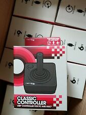 Retro-Bit Atari Style Wired USB Controller for PC and Mac - Black