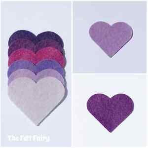 Felt-Wool-Blend-24-inch-60cm-Squares-Purple-Violet-Shades-Huge-Sheets
