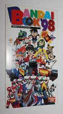 1998 Bandai Japan Product Power Ranger Lost Galaxy Ultraman Sentai Mini Catalog