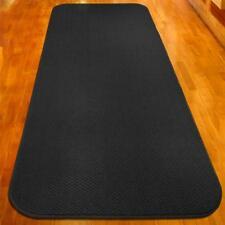 10 ft x 36 in SKID-RESISTANT Carpet Runner BLACK hall area rug floor mat