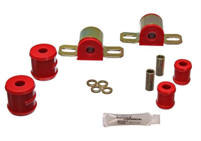 "70-81 Firebird Trans Am Rear Sway Bar Bushing Kit 3/4"" 1-Bolt Link Bar RED"