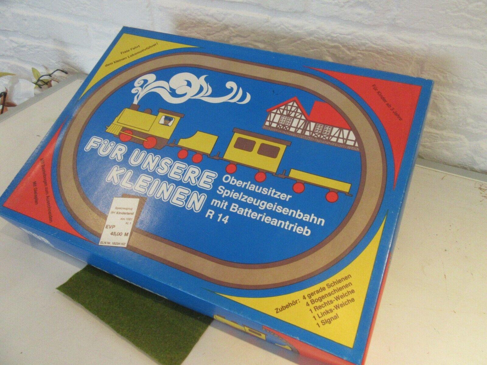 Ostalgie-speelgoed   Veb sprengstoffwerk Gnaschwitz treinspoorbaan.  ecco l'ultimo