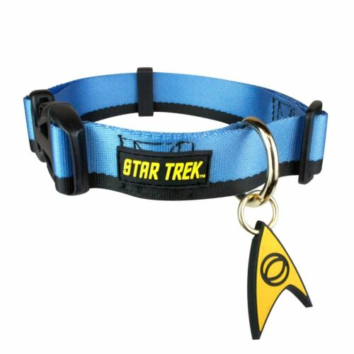 Star Trek Uniform Dog Collar Blue X-Large