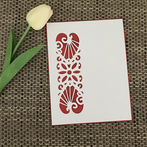 lace Design Metal Cutting Dies For DIY Scrapbooking Card Paper Album D   X