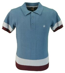 Captain Polo Merc Retro London Shirt Blue FSw7qCAR